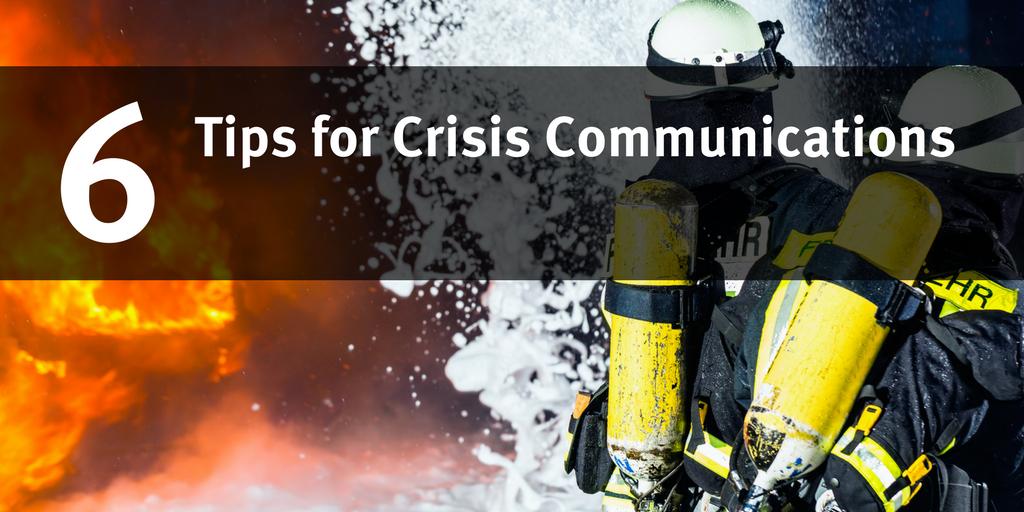 Crisis Communications Management Tips